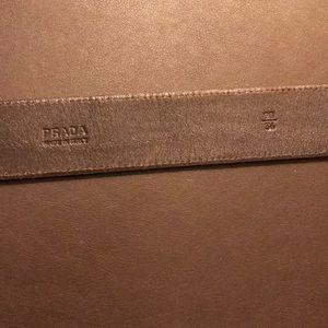 Prada Accessories - Prada Logo Belt